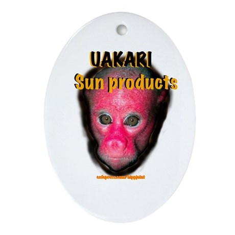 uakari sun products Oval Ornament