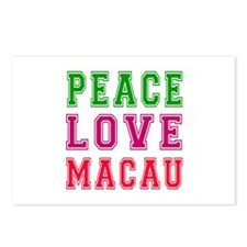 Peace Love Macau Postcards (Package of 8)