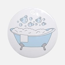 Bathtub Ornament (Round)