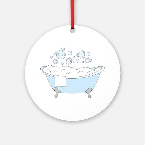 Bathtub Ornament (Round)