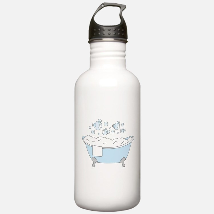 Bubble bath water bottles bubble bath reusable sports for Bathroom bottles