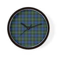 Tartan - MacLaren Wall Clock