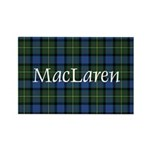 Tartan - MacLaren Rectangle Magnet