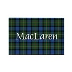 Tartan - MacLaren Rectangle Magnet (10 pack)
