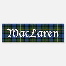 Tartan - MacLaren Bumper Bumper Sticker