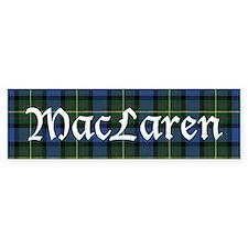 Tartan - MacLaren Bumper Sticker