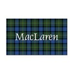 Tartan - MacLaren Rectangle Car Magnet