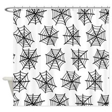 'Spider Webs' Shower Curtain
