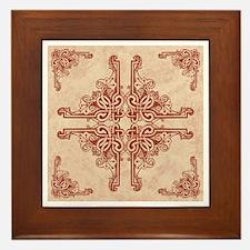 BLUSH Framed Tile