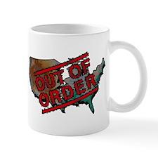 government shutdown color Mugs