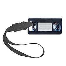 Retro VHS Tape Luggage Tag