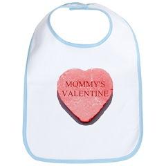 Valentine Candy Heart - Mommy Bib
