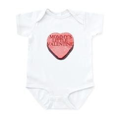 Valentine Candy Heart - Mommy Infant Bodysuit