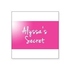Alyssas Secret Sticker