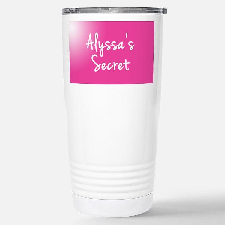 Alyssas Secret Travel Mug