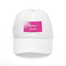 Alyssas Secret Baseball Baseball Cap