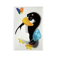 linux Rectangle Magnet