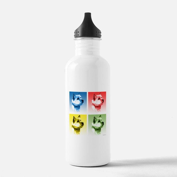 NorwichPop.png Water Bottle
