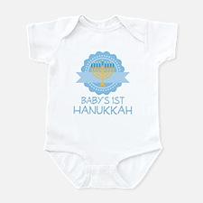 Baby's 1st Hanukkah Boys Infant Bodysuit