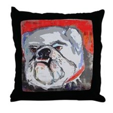 DAWG Throw Pillow