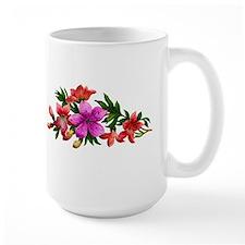 Victorian Floral Design Mug
