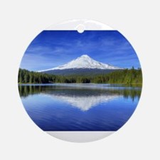 Mount Hood Ornament (Round)