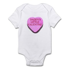 Candy Heart - Daddy's Little Infant Bodysuit