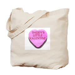 Candy Heart - Daddy's Little Tote Bag
