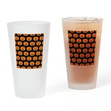 'Pumpkins' Drinking Glass