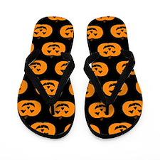 'Pumpkins' Flip Flops