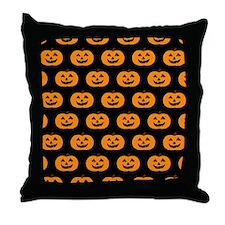 'Pumpkins' Throw Pillow