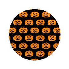 "'Pumpkins' 3.5"" Button (100 pack)"