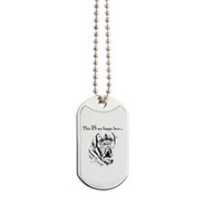 Dogue de Bordeaux Happy Face Dog Tags