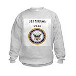 USS TARAWA Kids Sweatshirt