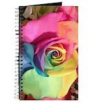 Rainbow Rose Journal