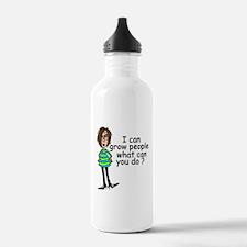 Funny Pregnancy Water Bottle