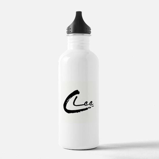 C Lee Logo Water Bottle