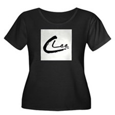 C Lee Logo Plus Size T-Shirt
