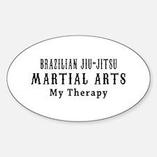 Brazilian Jiu-Jitsu Martial Art My Therapy Decal
