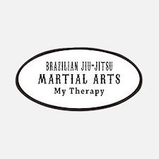 Brazilian Jiu-Jitsu Martial Art My Therapy Patches