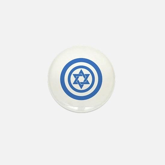 Captain Israel Mini Button