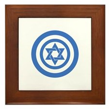 Captain Israel Framed Tile