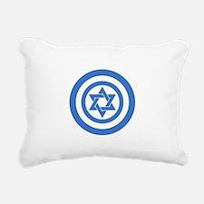 Captain Israel Rectangular Canvas Pillow