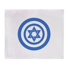 Captain Israel Throw Blanket