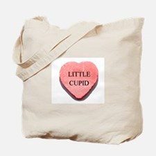 Valentine Candy Heart - Littl Tote Bag