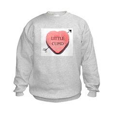 Valentine Candy Heart - Littl Sweatshirt