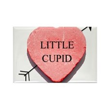 Valentine Candy Heart - Littl Rectangle Magnet