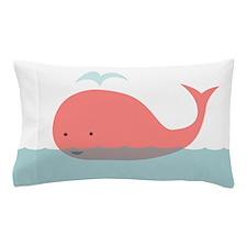Cute Whale Pillow Case