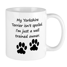 Well Trained Yorkshire Terrier Owner Mugs