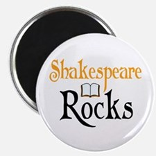Shakespeare Rocks Magnet